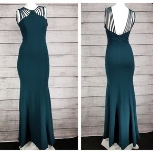 Dress the Population Harlow Crepe Formal Gown XS